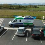 RTE Mobile Broadcast Van. Image via Bernard Goldblach, Flickr
